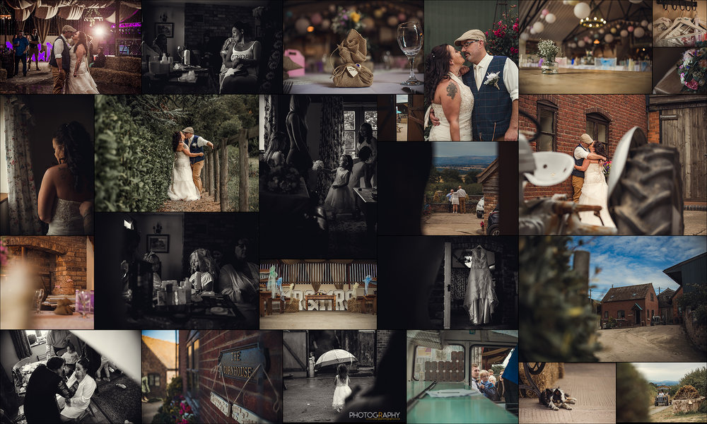 Shropshire Wedding Photographer - Morrells Farm