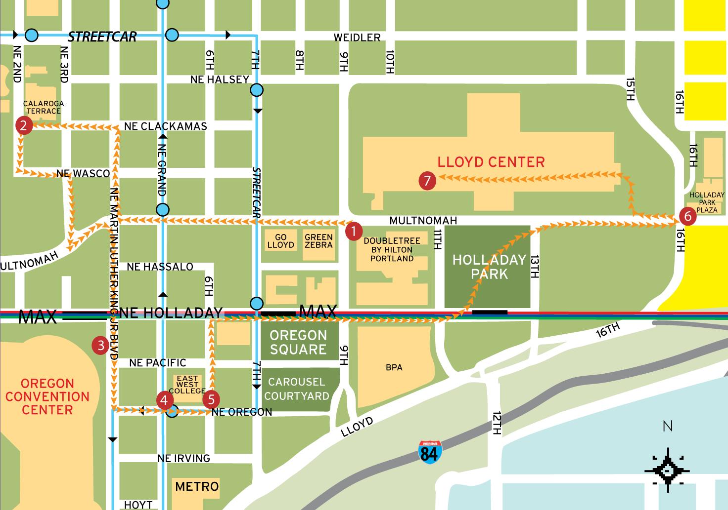 Walk Go Lloyd - Send us map