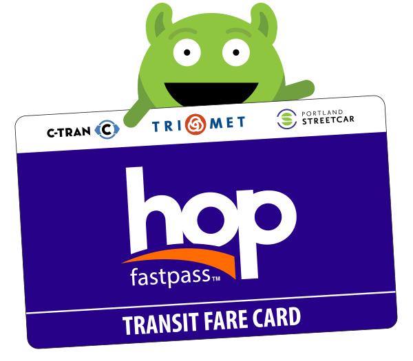 Hop Fastpass Card - $3.00