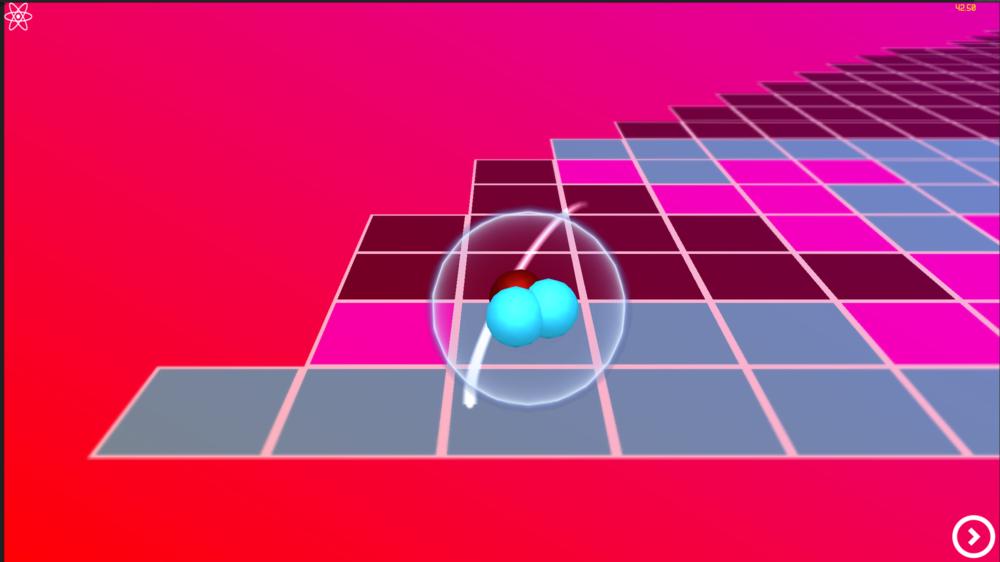 Current Menu, single atom