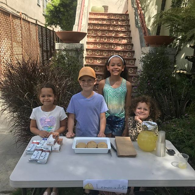 Snack stand at 6379 Orange st la 90048. How can you resist this crew. Get it while it lasts.