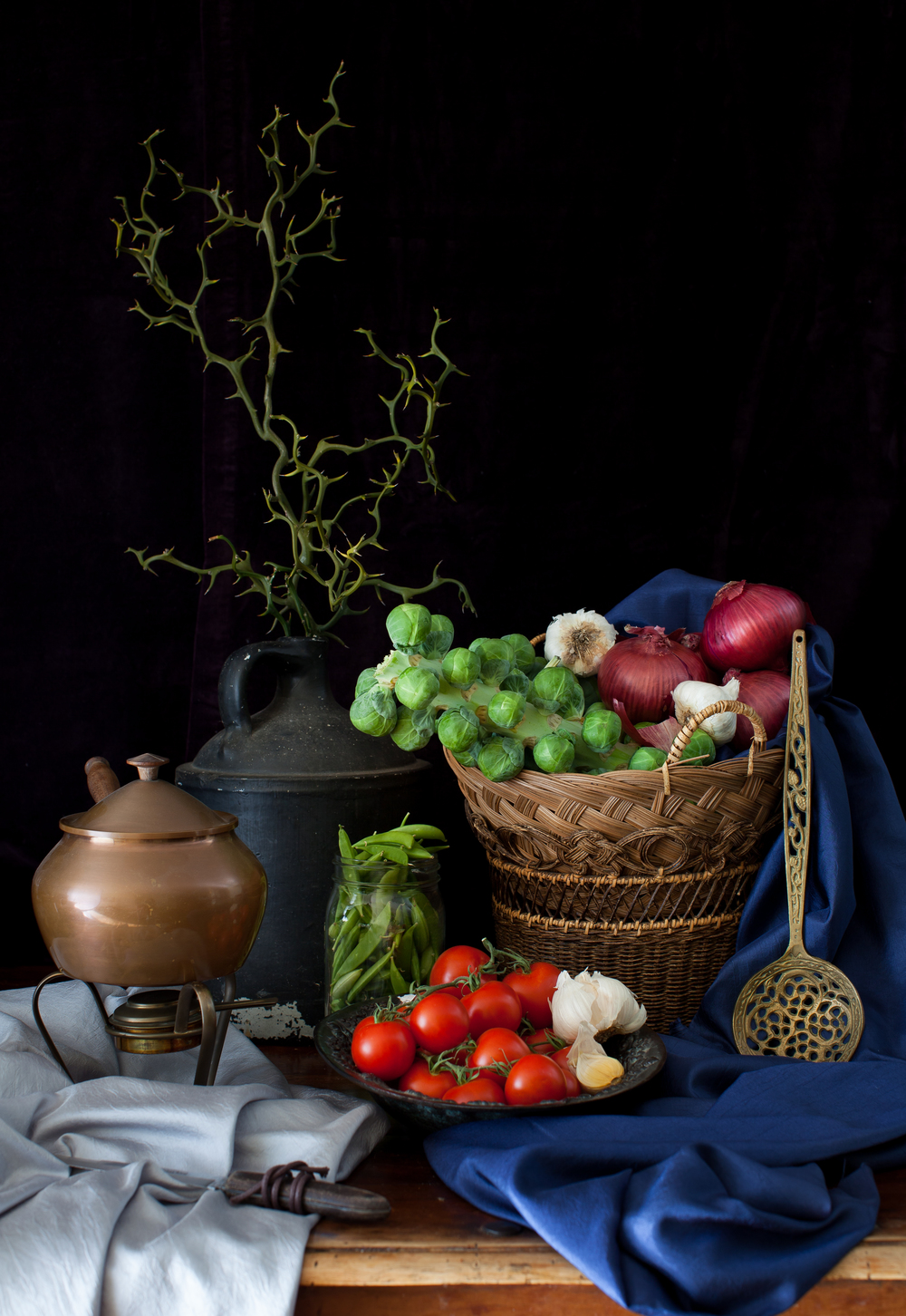 Still Life with Vegetables 2013