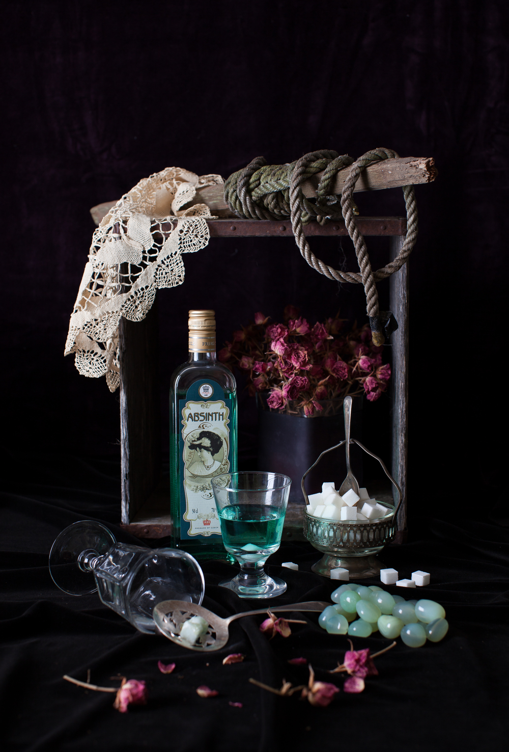 Still Life with Absinthe 2013