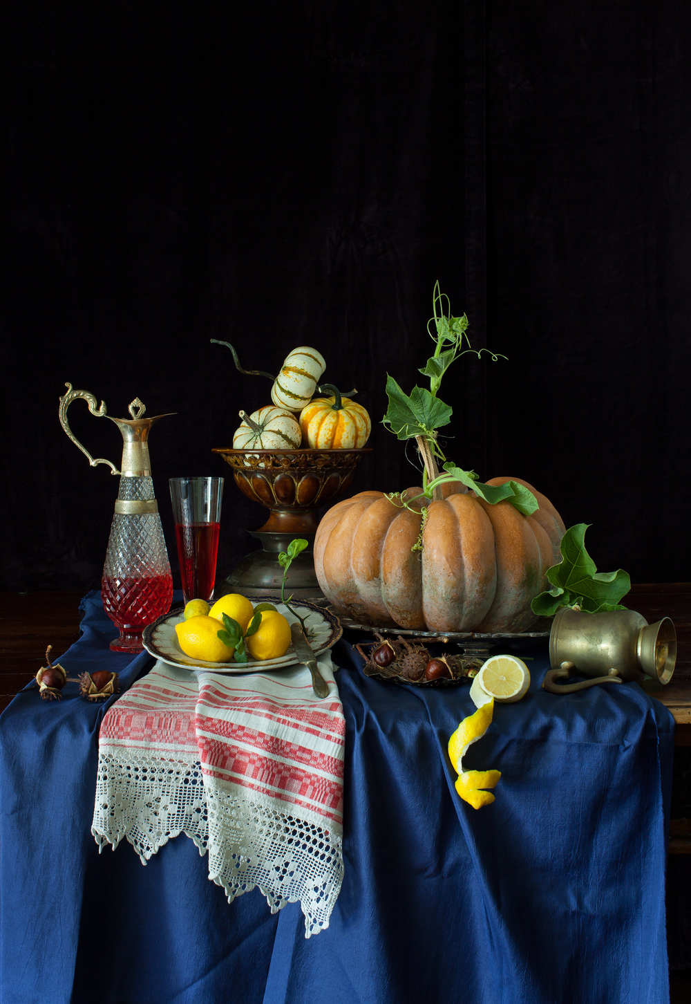Magical Pumpkin Still Life 2013