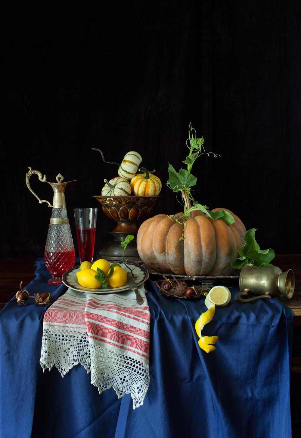 Magical Pumpkin Still Life 2013