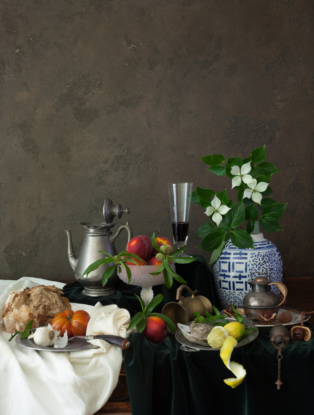Still Life with Tomato & Fruits 2014
