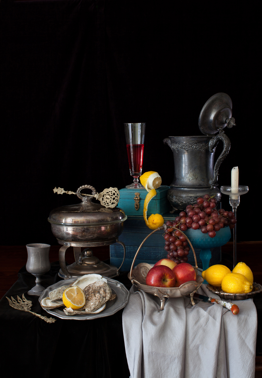 Still Life with Lemons & Oysters 2014