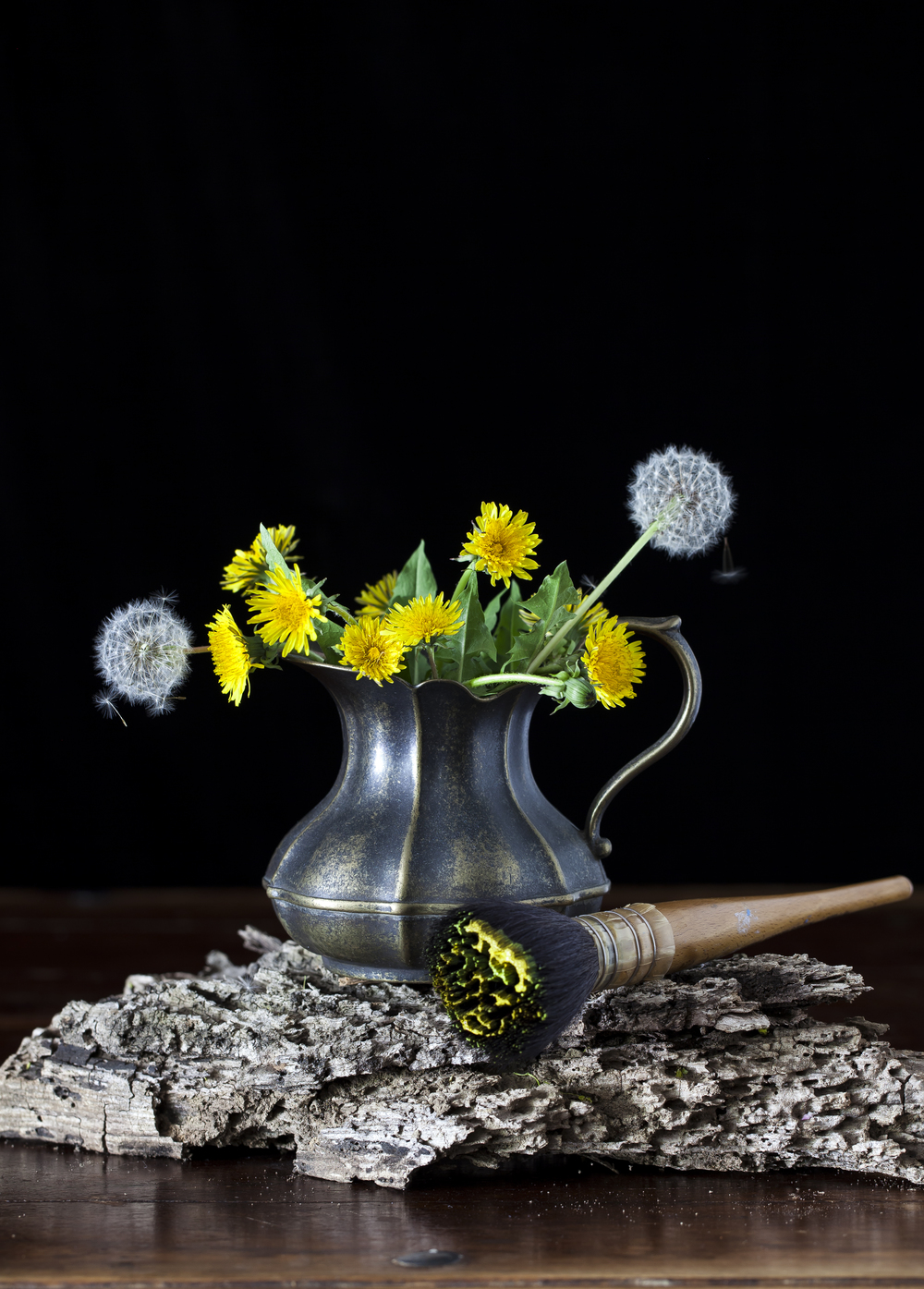 Still Life with Dandelions 2015