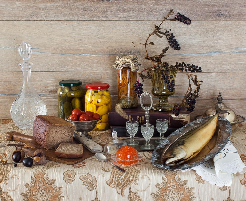 Russian Table Still Life 2015