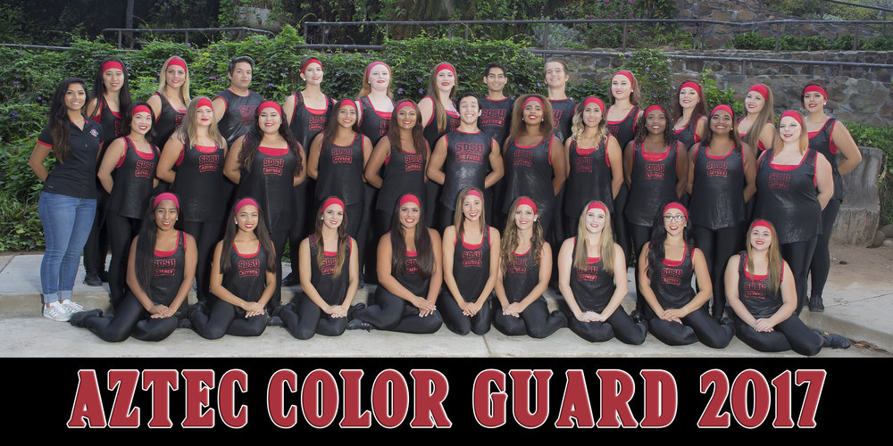 SDSU Fall Color Guard 2017