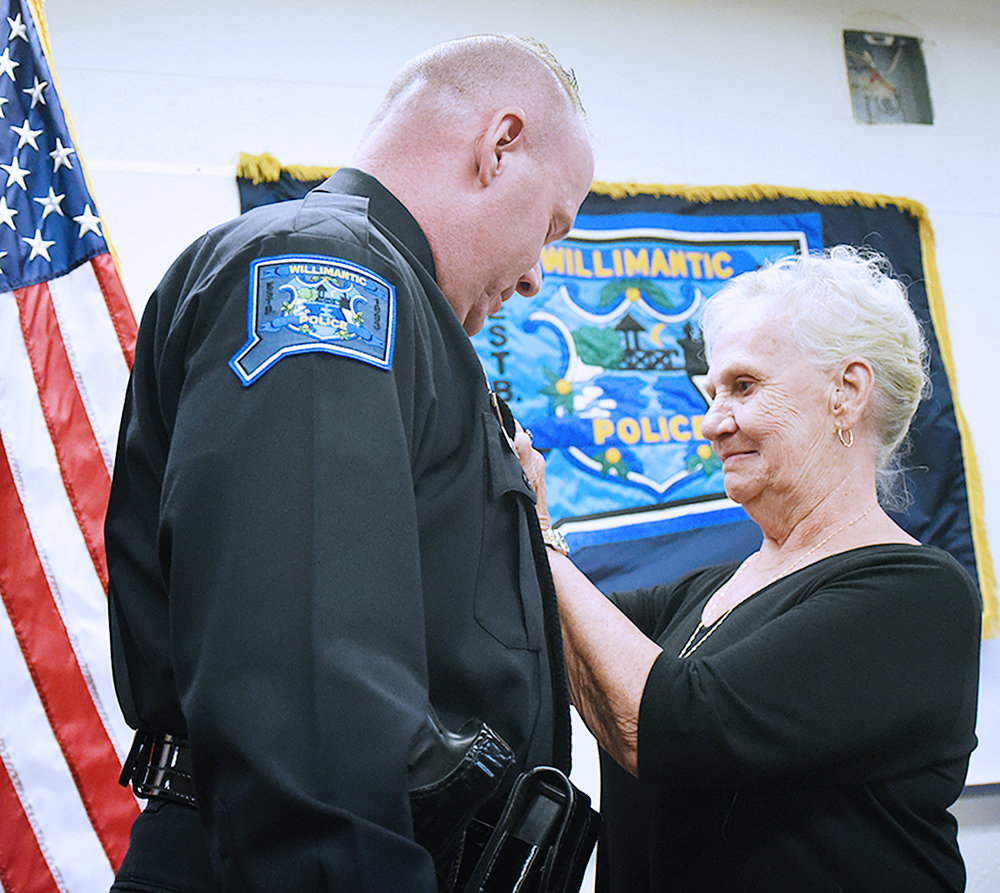 Willimantic Police Parizo Promotion _3 Oct 4 2016.jpg