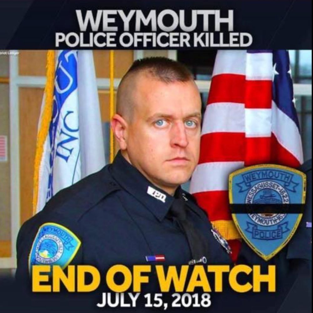 The Willimantic Police Department extends our deepest condolences to the Weymouth Police Department as well as the friends and family of Massachusetts Police Officer Micheal Chesna who was killed in the line of duty while couragously serving his community.  Your service and sacrifice will never be forgotten. Thank you for your honorable service.