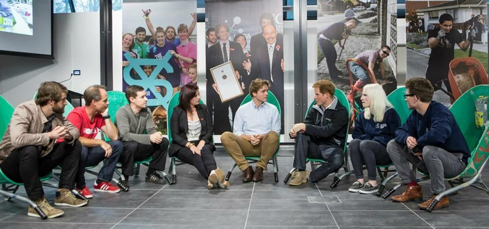 Prince Harry visit