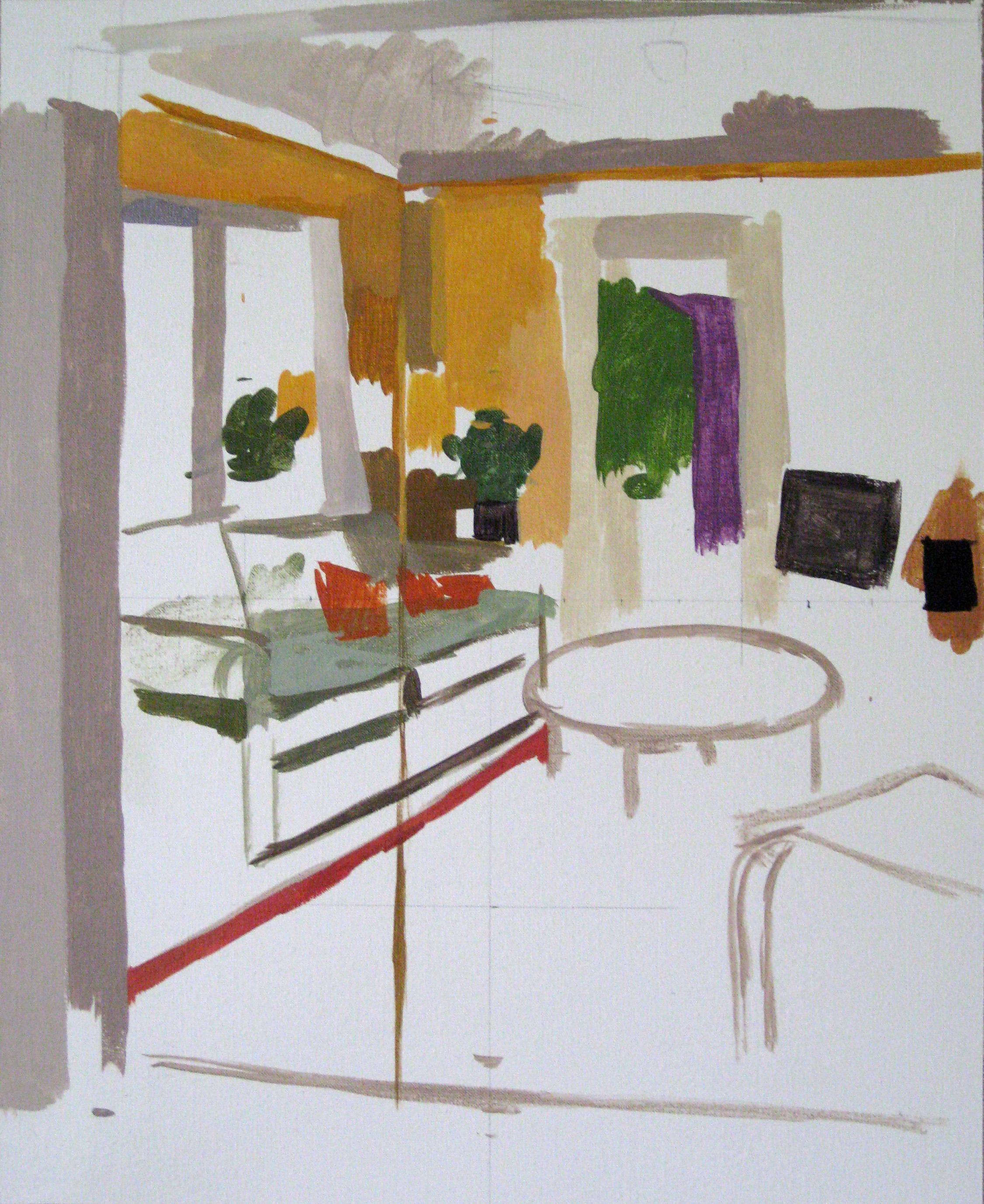 Orange Room 1