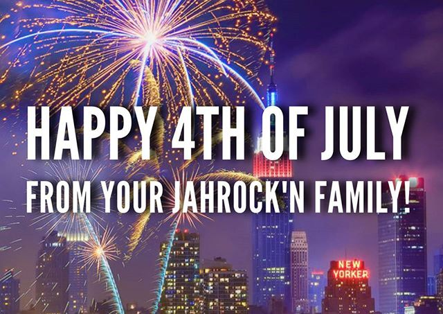Happy 4th of July! Enjoy, Be Safe, Stay Blessed! 🙏🎆 #TeamJahRockn  #4thOfJuly