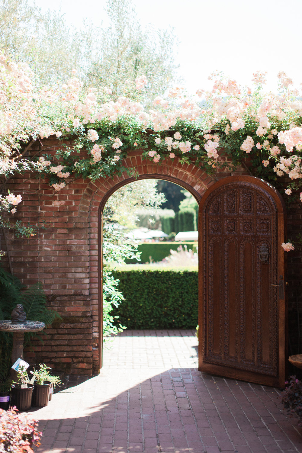 Brandon Sampson Photography. Filoli Gardens Wedding Venue. Film Photography.