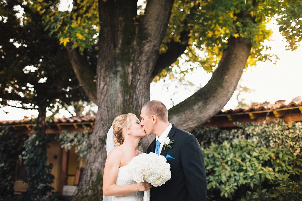 Brandon Sampson Photography. Marin Wedding Couple Portrait. Film Photography.