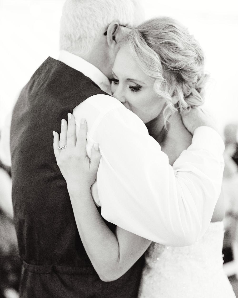 Brandon Sampson Photography. Marin California Wedding Father Daughter Dance. Film Photography.