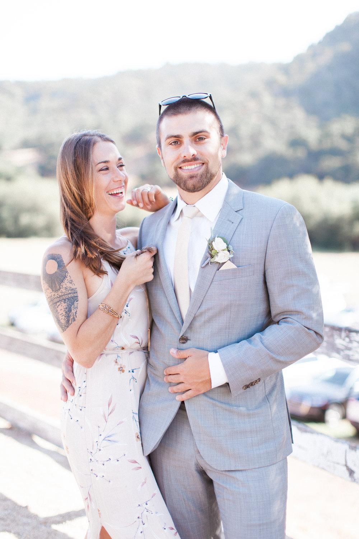 Brandon Sampson Photography. San Luis Obispo Wedding Portrait. Film Photography.