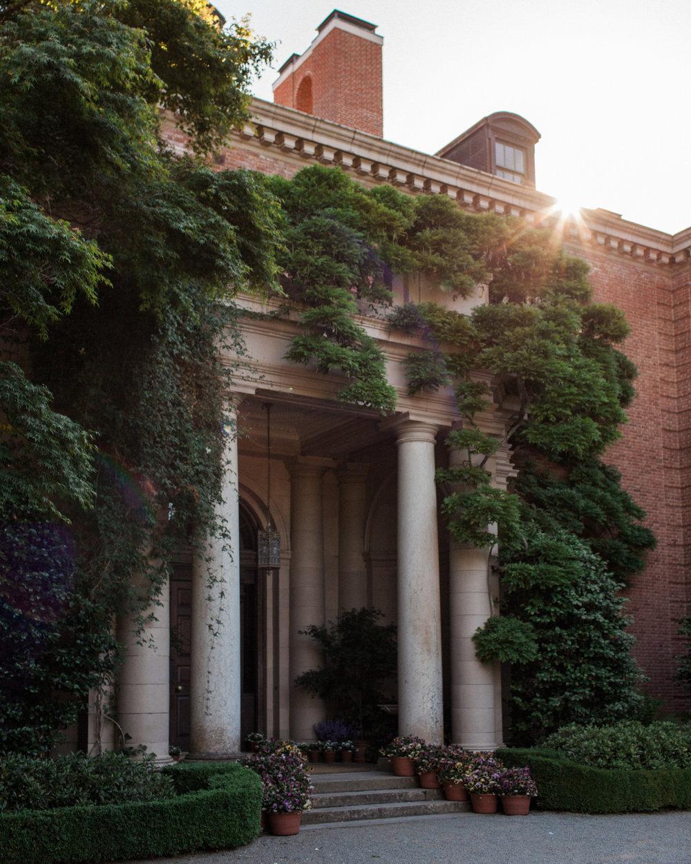 Brandon Sampson Photography. Filoli Gardens Sunset. Film Photography.