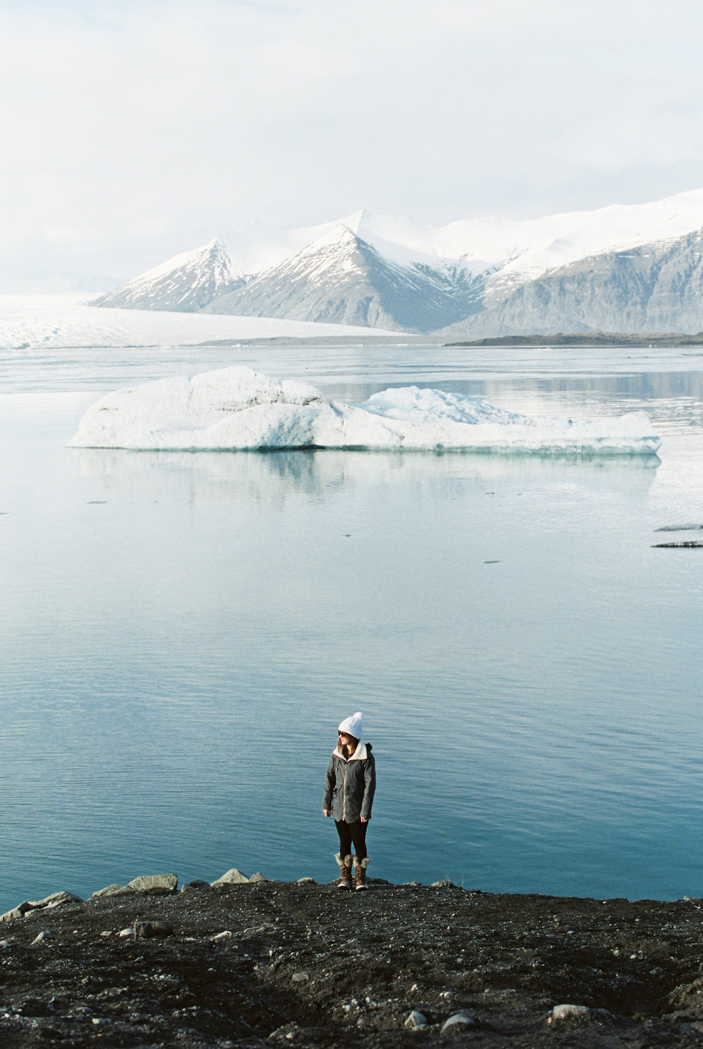 Portrait At Glacier Lagoon