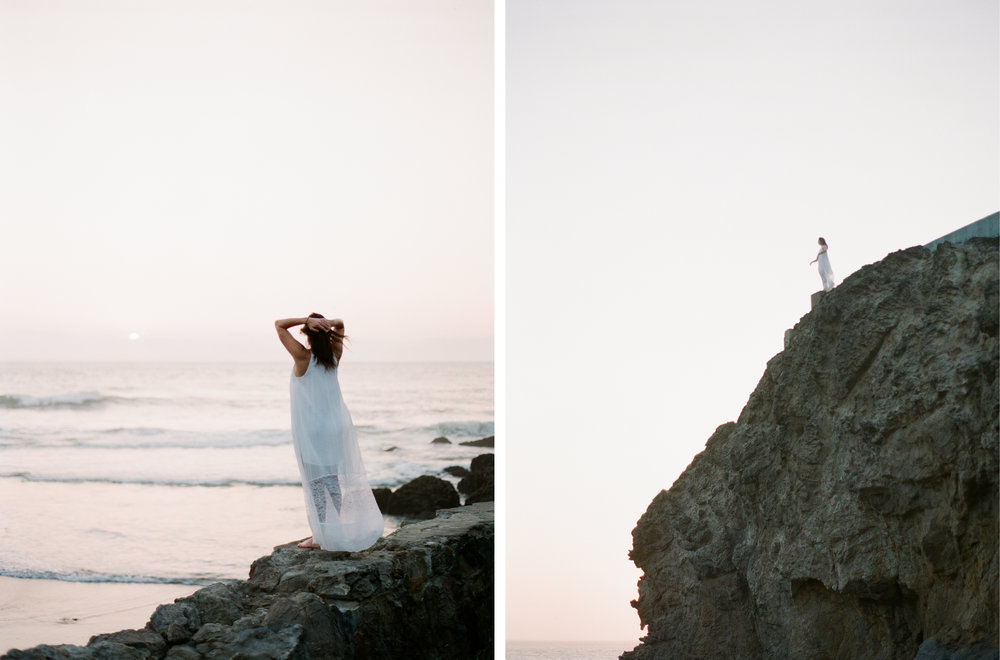 Brandon Sampson Photography. Sutro Baths Sunset Portrait Session. San Francisco, California. Film Photography.