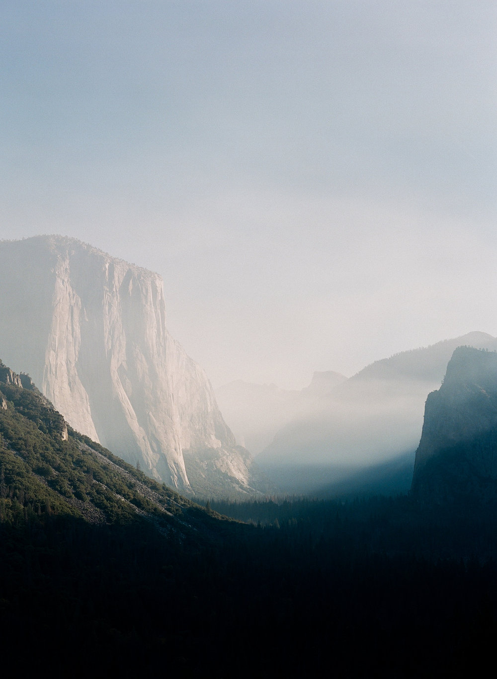 Tunnel View, Smoke