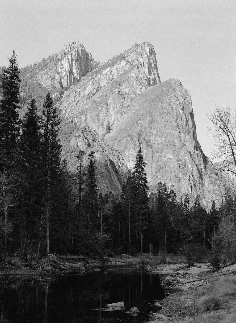 The Three Brothers, Yosemite Valley