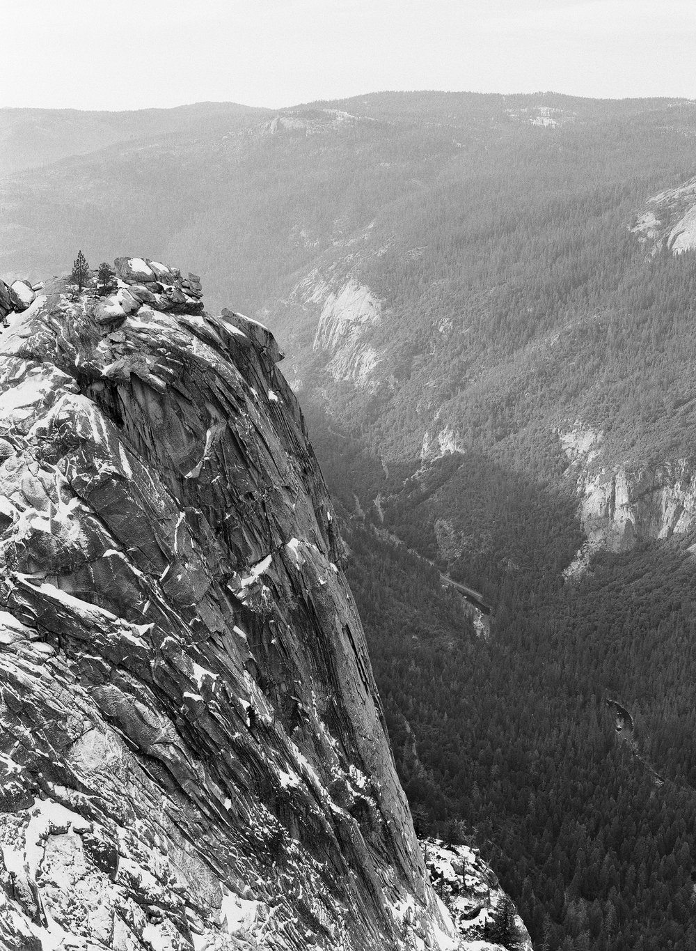 Dewey Point,  Yosemite Valley, No. 1