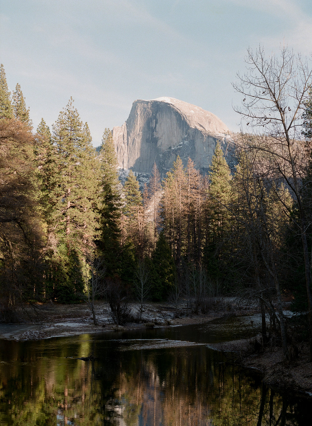 Half Dome From Sentinel Bridge, Yosemite Valley