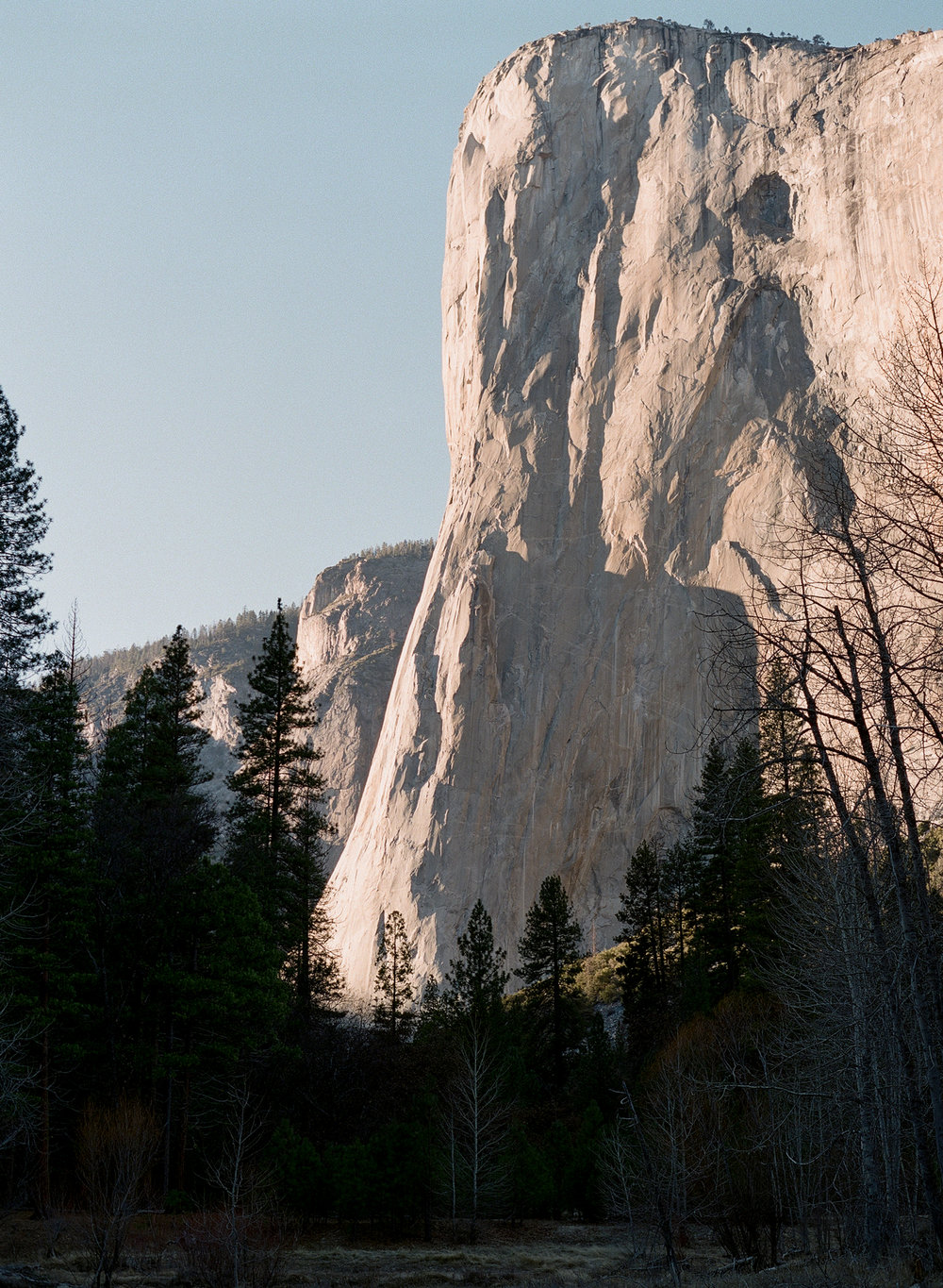 El Capitan, Sunset, Yosemite Valley