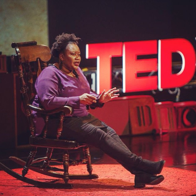 April Dobbins '99! #TEDxGrinnell #TEDx #Speakout