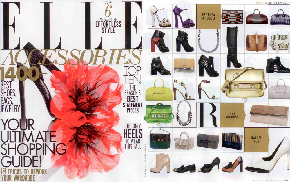 ELLE ACCESSORIES, OCTOBER 2012