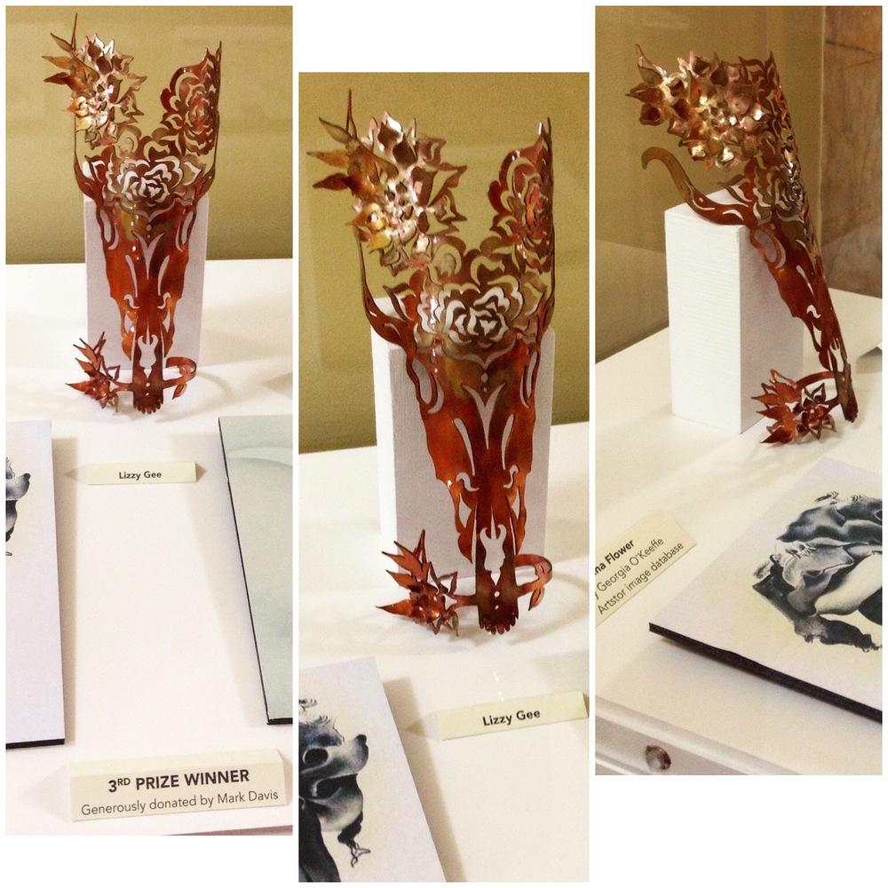 Award Winning Copper Cuff