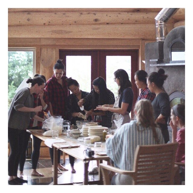 #TBT TO LAST YEAR'S GETAWAY // Tomorrow we head out on our last retreat of the year to @woodsonpender and we couldn't be more excited for a slow weekend away of yoga and workshops with some of our favourite OGs. #notyoureveryday™ #SYgetaway
