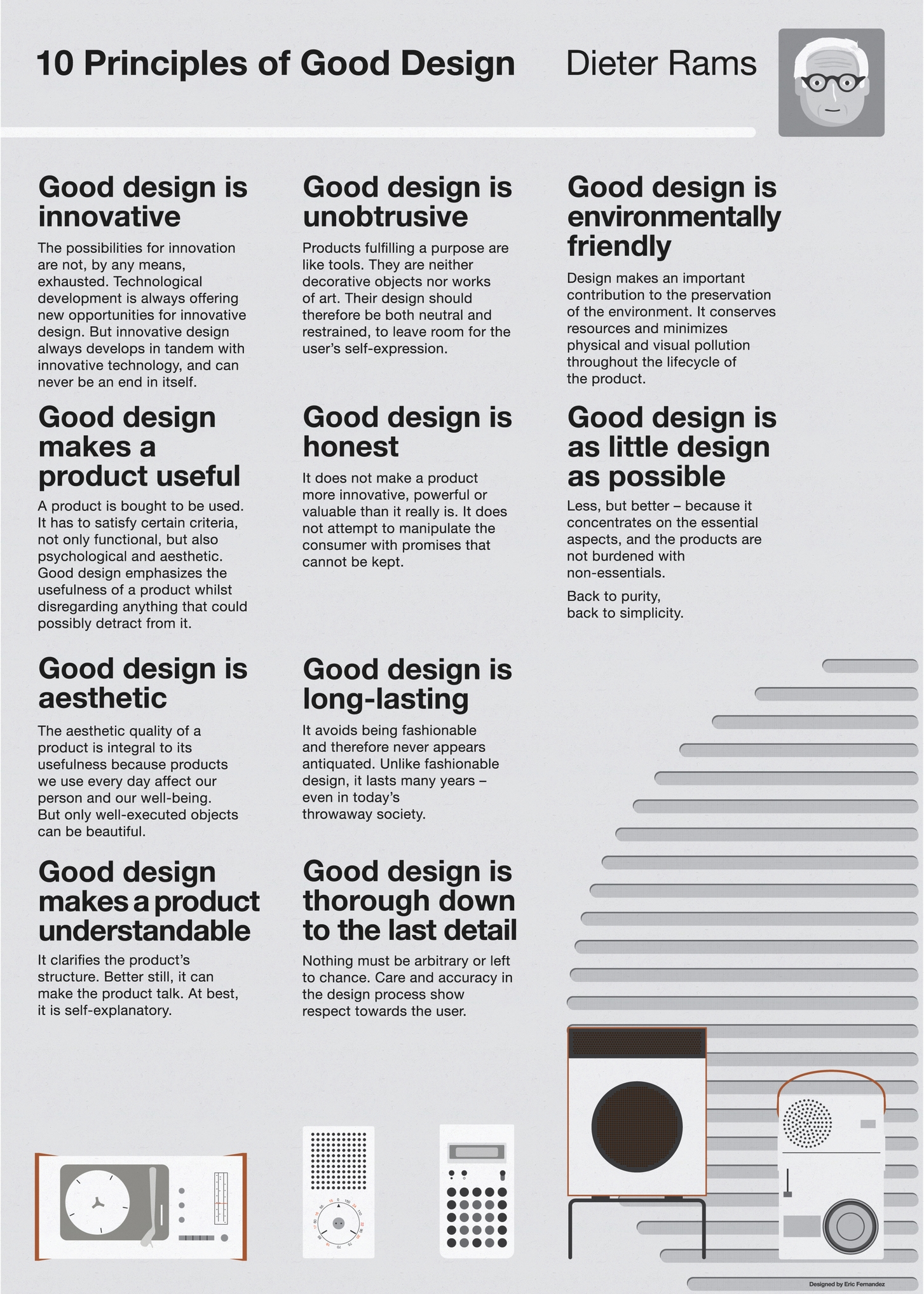 Poster design principles - 10 Principles Of Good Design