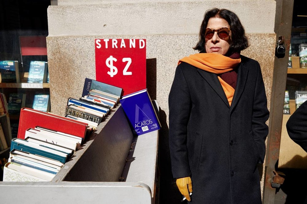 Fran Lebowitz photographed by Jason Frank Rothenberg