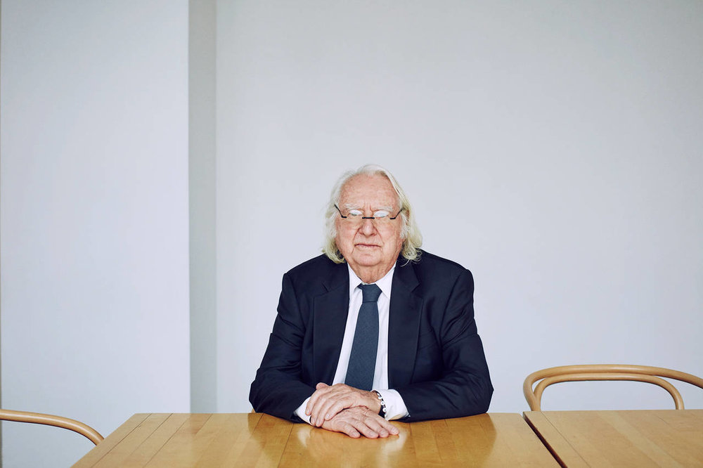 Richard Meier photographed by Christopher Sturman