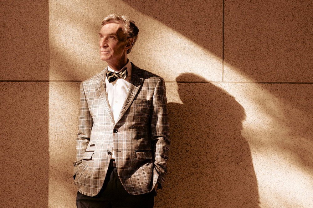 Bill Nye photographed by Adam Krause