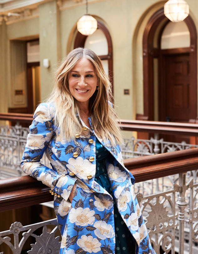 Sarah Jessica Parker photographed by Kathy Lo