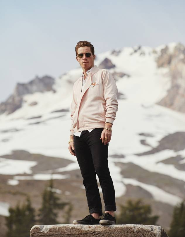 Shaun White photographed by Clayton Cotterell