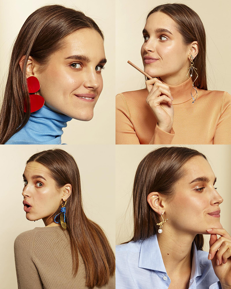 Statement Earrings photographed by F. Martin Ramin