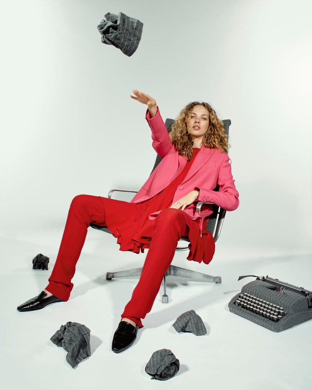 The New Power Suit photographed by Kale Friesen