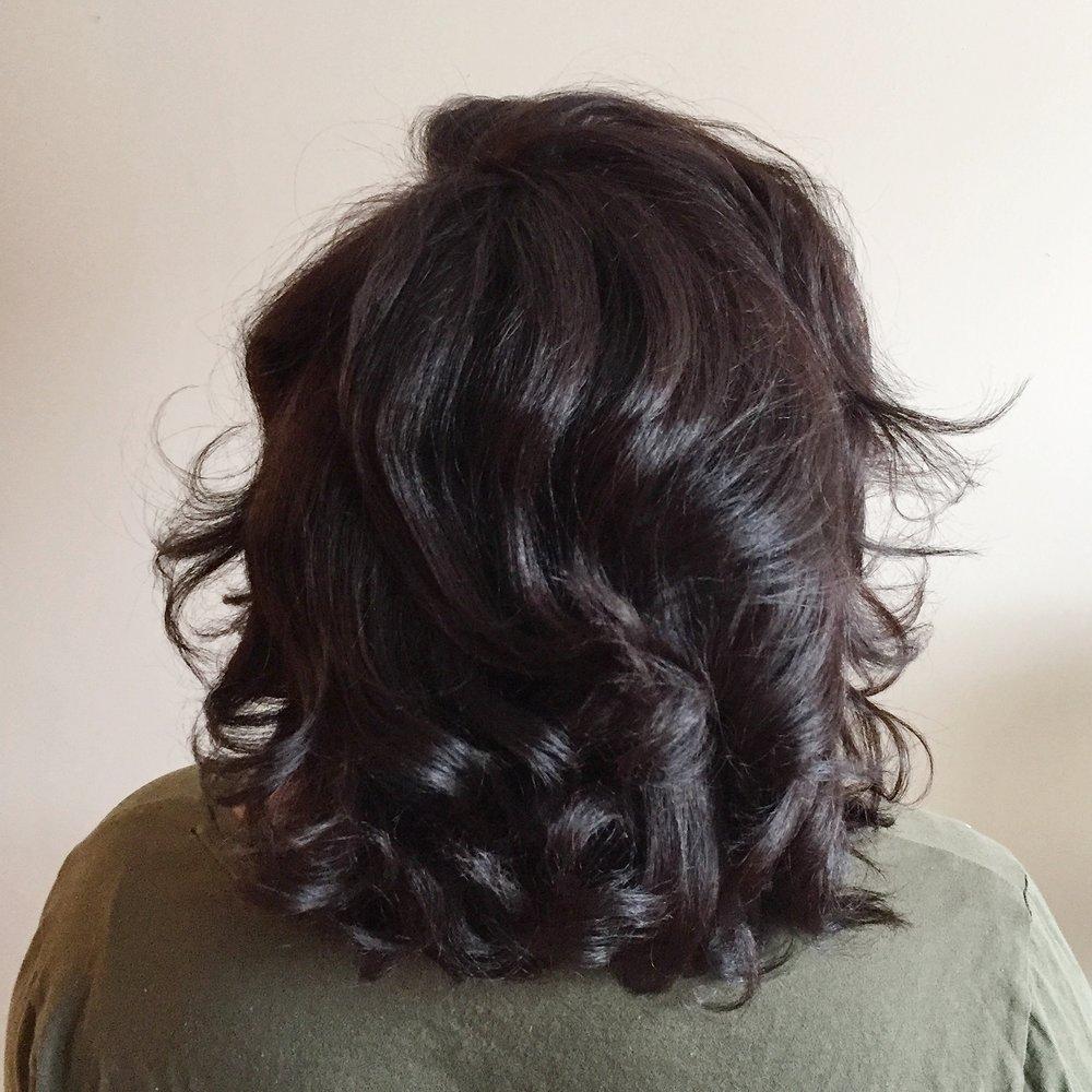 Coloration cheveux crepus montreal