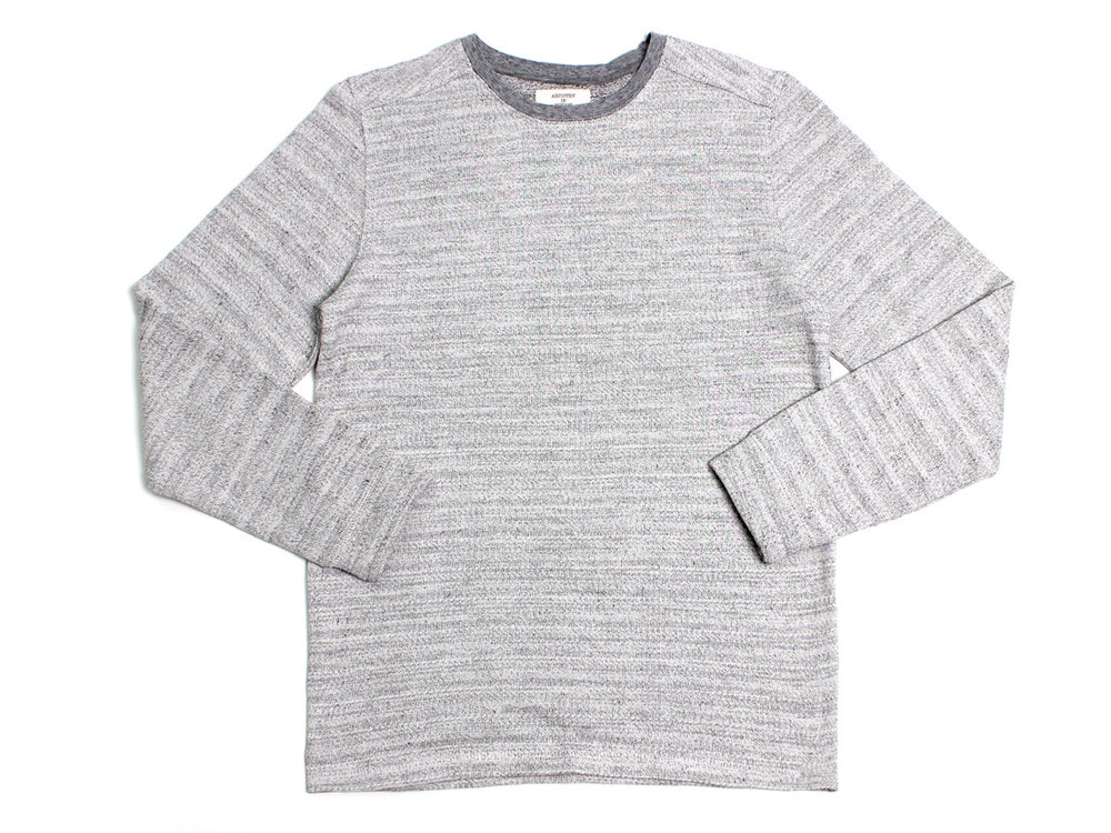 Panels LS Crewneck - Off-White/Black