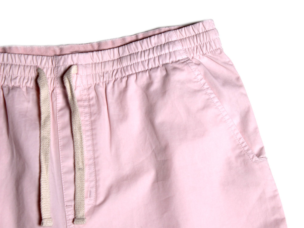 Twill Shorts - Barely Pink