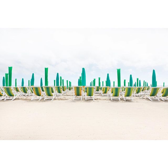 "A glimpse of summer in the dead of winter Forte dei Marmi by Frank Schott 48"" x 72"" / 122cm x 183cm signed edition of 7 #editionektalux #1stdibs"
