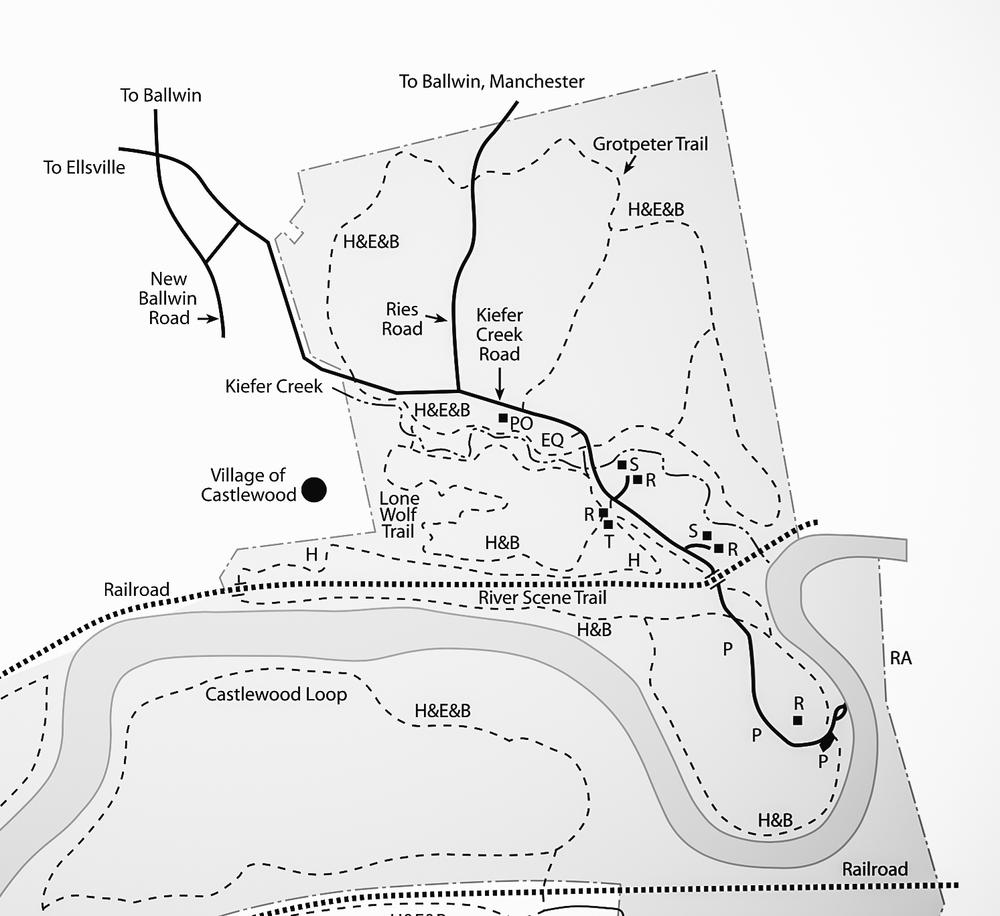 River Scene Trail  -  3.2 miles  |  226 feet  |  Loop