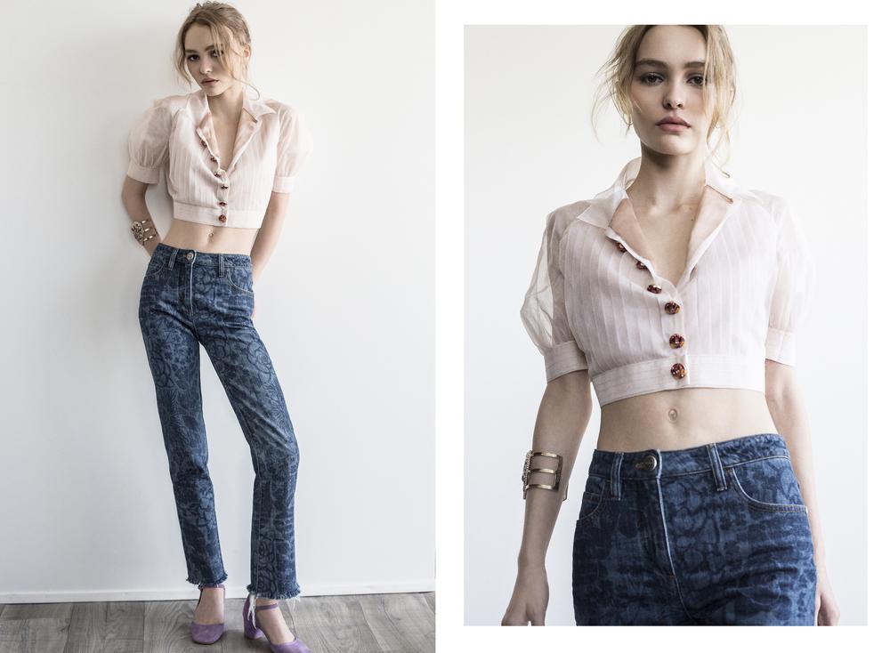 Lily-Rose Depp / W Magazine