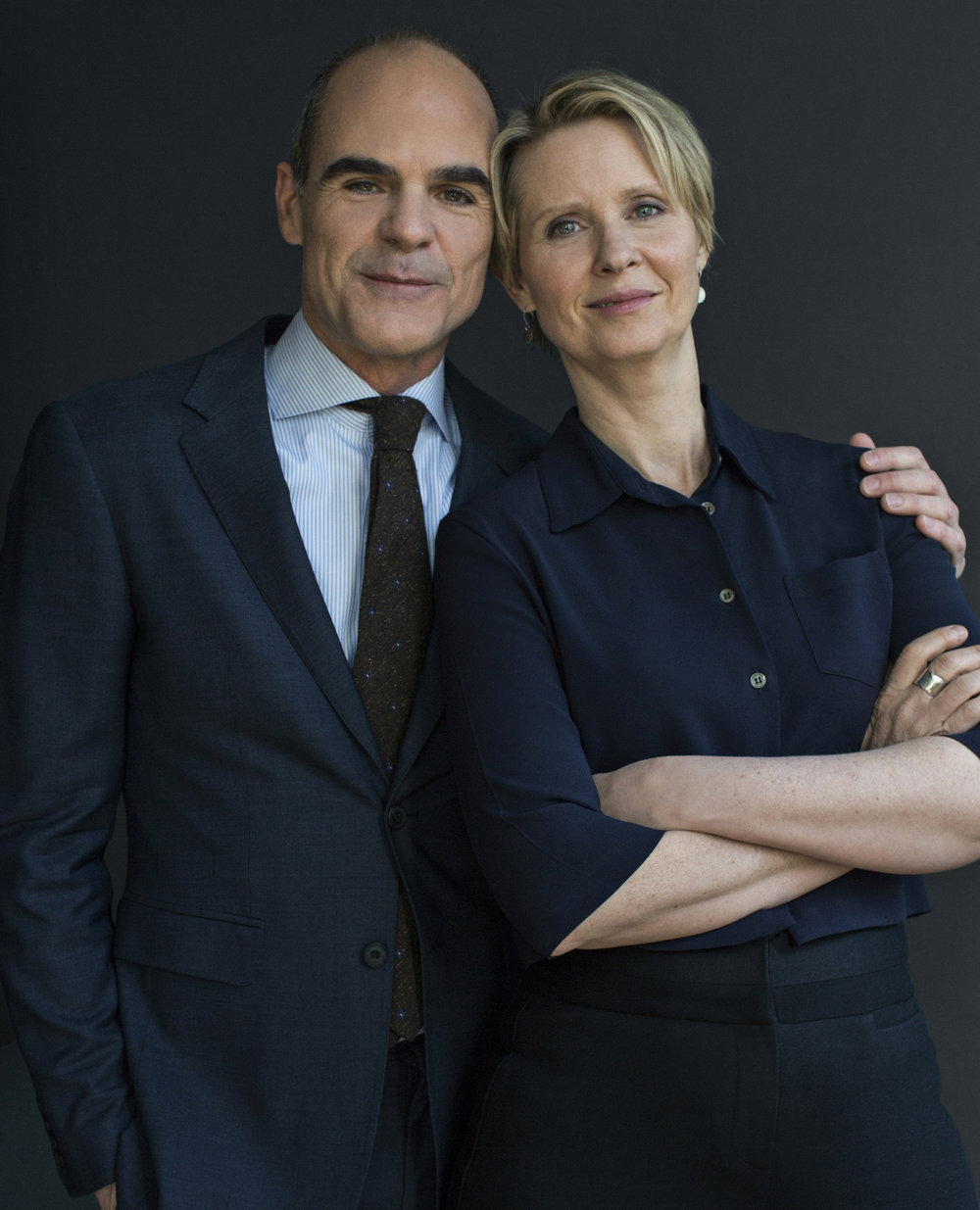 Cynthia Nixon & Michael Kelly / Its harassment campaign